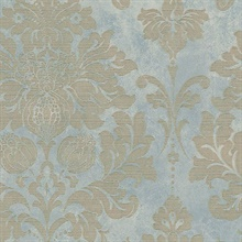 Axbridge Damask Blue