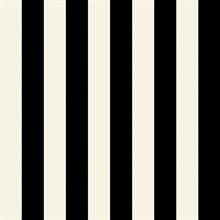 Belmont Stripe Black/White