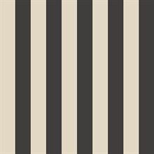 Belmont Stripe Black/Cream