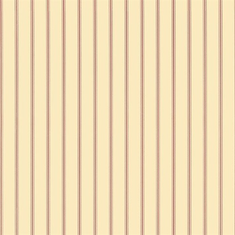 Cameron Stripe Beige/Red