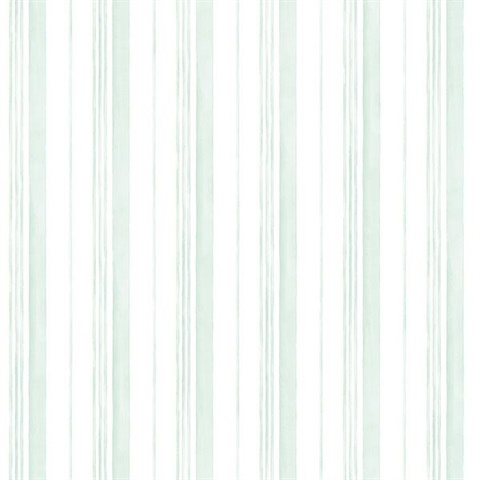 Spring Watercolor Stripes