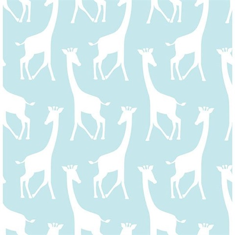 Turqoise Savannah Soiree L And Stick Wallpaper