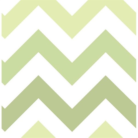 Green Zig Zag L And Stick Wallpaper