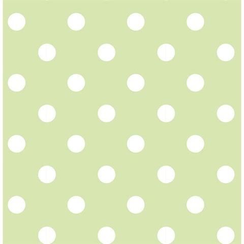 Green Dottie L And Stick Wallpaper