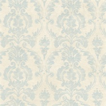 Bristol Blue Torch Damask