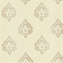 Donald Beige  Damask
