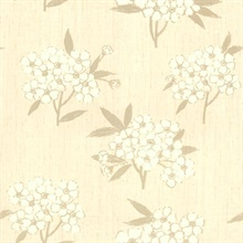 Giacinto Taupe Large Floral