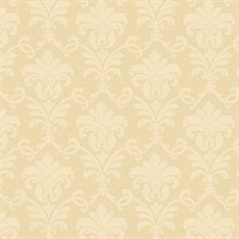Neutral Herringbone Damask