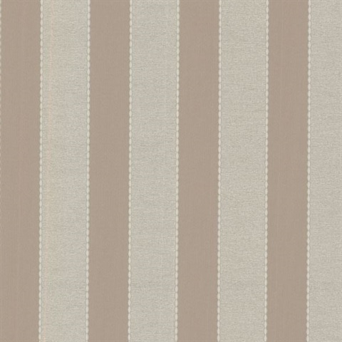 Holly Taupe Embellished Stripes