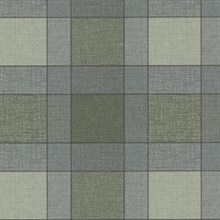 Kieran Teal Wool Plaid