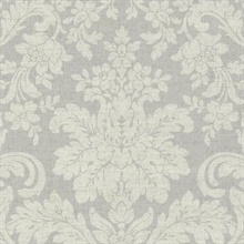 Birgitta Grey Damask