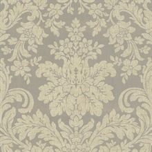 Birgitta Pewter Damask