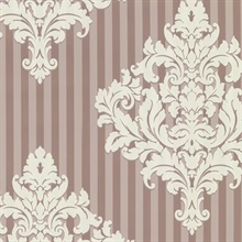 Rowan Rose Damask Stripe