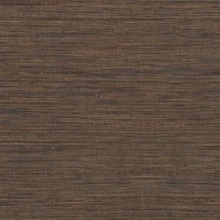 Tapis Brown Faux Grasscloth