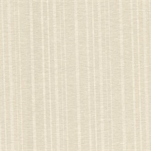 Ditmar Champagne Striped Woven Texture Wallpaper