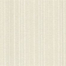 Ditmar Silver Striped Woven Texture Wallpaper