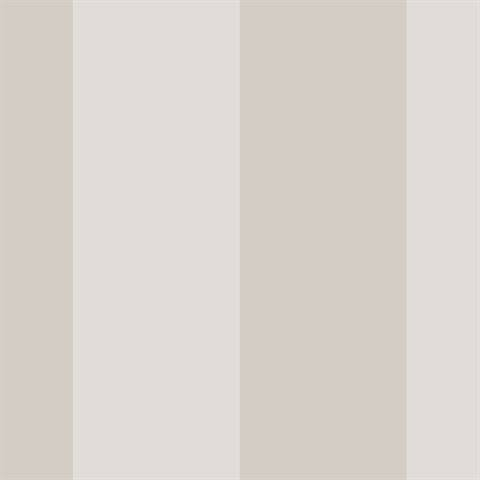 5.25 Inch Stripe Taupe Beige Wallpaper