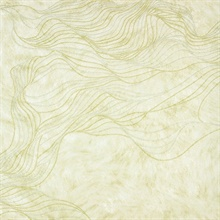 Abruzzo Cream Wolf Wave Wallpaper