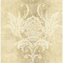 Acanthus Leaves, Damask