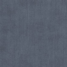 Agata Blue Linen Wallpaper