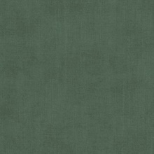 Agata Green Linen Wallpaper