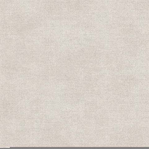 Agata Light Grey Linen Wallpaper
