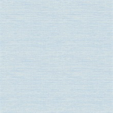 Agave Blue Grasscloth Wallpaper