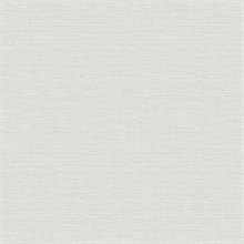 Agave Light Grey Faux Grasscloth Wallpaper
