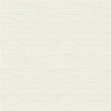 Agave Off-White Faux Grasscloth Wallpaper