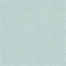 Agave Teal Faux Grasscloth