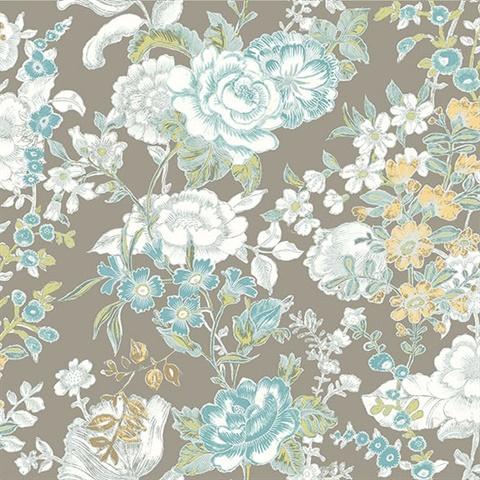 Ainsley Grey Boho Floral