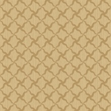 Alexi Gold Ornate Criss Cross Wallpaper