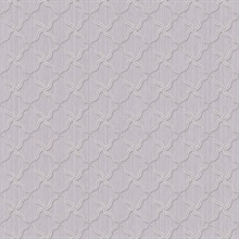 Alexi Violet Ornate Criss Cross Wallpaper