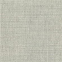 Alfie Grey Subtle Linen Wallpaper