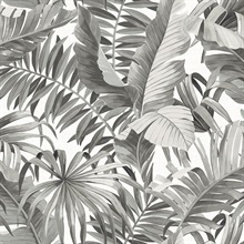 Alfresco Black Palm Leaf
