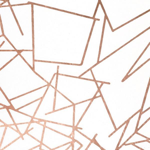 Angles Rose Gold Wallpaper Anglesccc Modern Designer