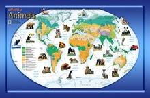 Animals Of The World Wall Mural