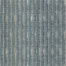 Annabeth Teal Distressed Stripe Wallpaper