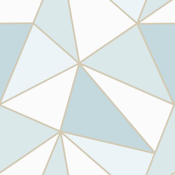 2814 24978 Apex Blue Geometric Wallpaper Wallpaper Boulevard