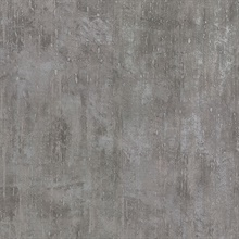 Ara Pewter Distressed Texture Wallpaper