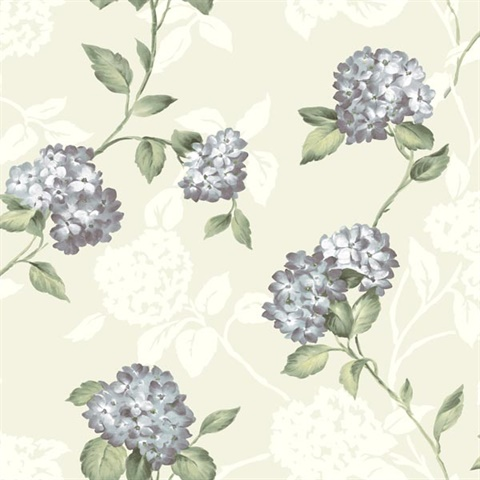 Arbor Rose Mint Floral Trail Wallpaper