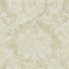 Astor Gold Damask