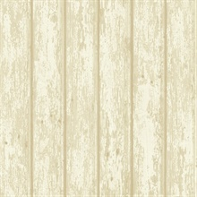 Athena Grey Faux Weathered Wood Wallpaper