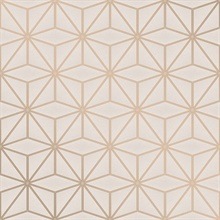 Augustin Rose Gold Geometric