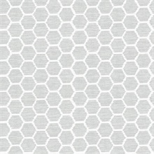 Aura Grey Honeycomb