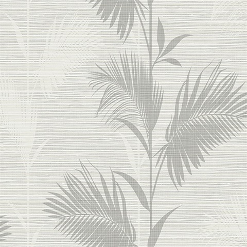 Away On Holiday Grey Palm
