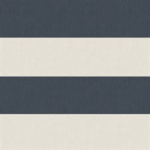 Awning Navy Stripe