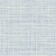 Baby Blue & White Abstract Faux Weave Texture Wallpaper