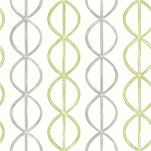 Banning Stripe Green Geometric