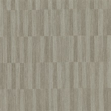 Barie Light Brown Vertical Tile Wallpaper